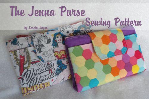 Jenna Purse Pattern By Lorelei Jayne