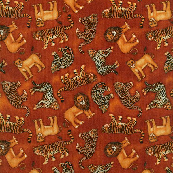 Bavlněná látka Jungleland (L1536) | Bargello - všechno pro patchwork