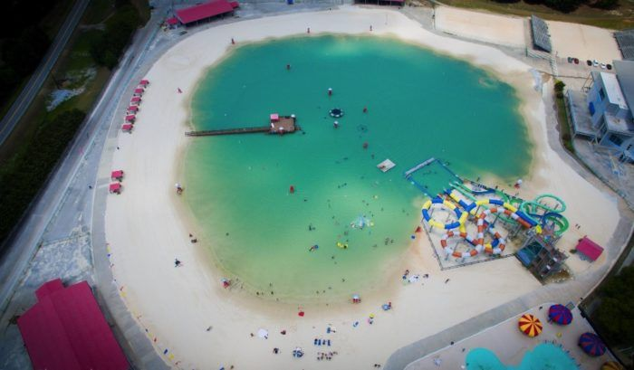 This Hidden Beach In Georgia Will Take You A Million Miles Away From It All : onlyinyourstate  #ClaytonCo #Ga