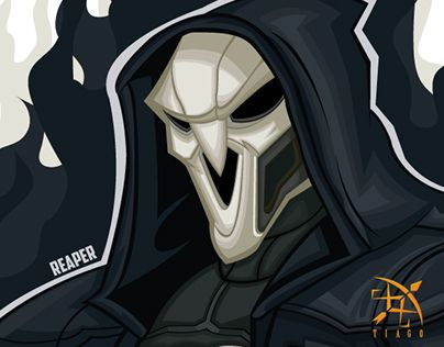 """Check out new work on my @Behance portfolio: """"REAPER OVERWATCH"""" http://be.net/gallery/37457517/REAPER-OVERWATCH"""