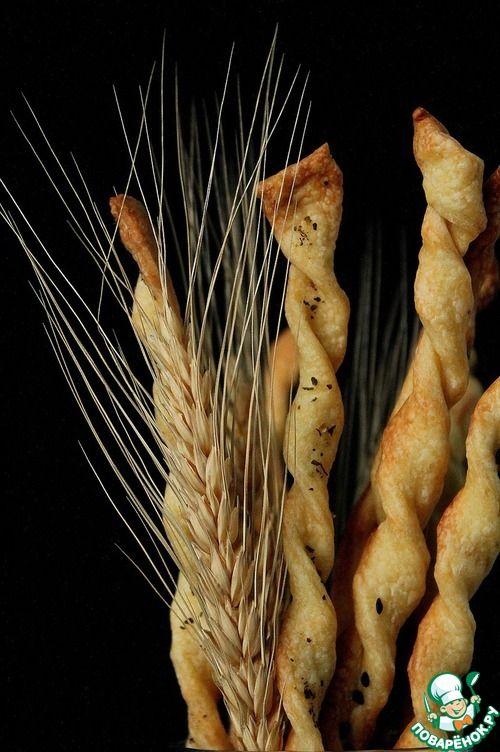 Итальянские хлебные палочки гриссини - кулинарный рецепт
