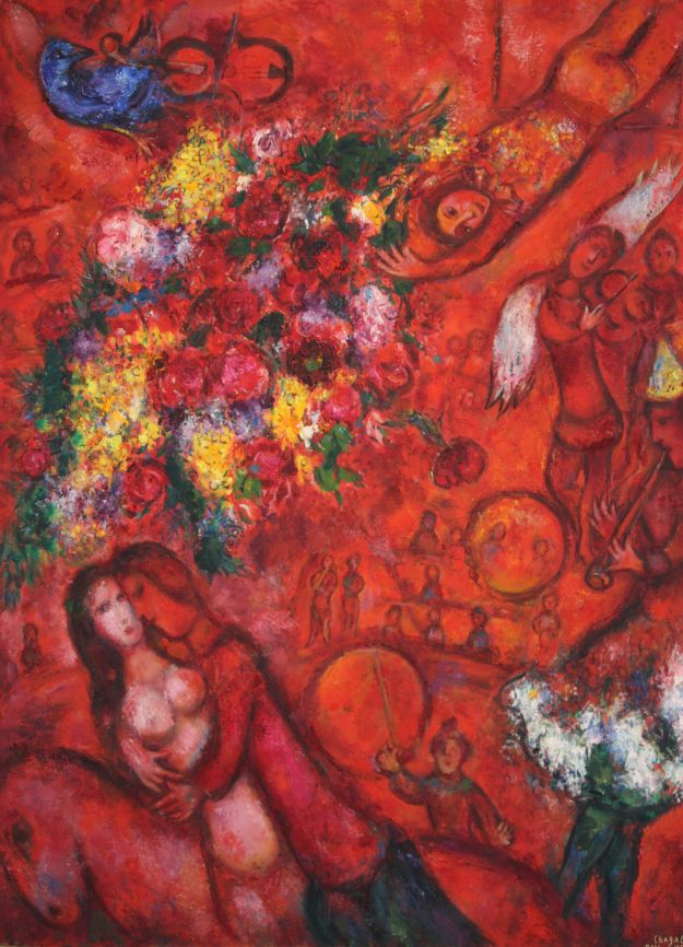 Chagall painting from Musee de Marc Chagall, Nice