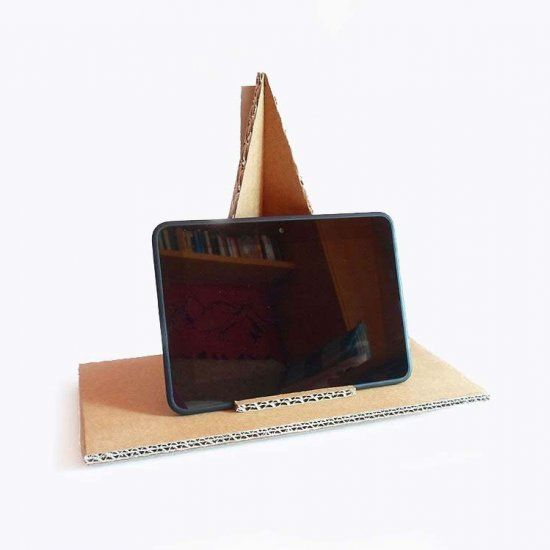How To Make Cardboard Easel Stand Woodworking Projects