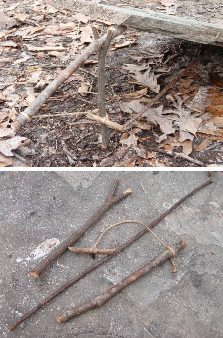 Primitive traps can connect us to to the land and provide food in an emergency.  Got to practice these before that happens (where legal of course)