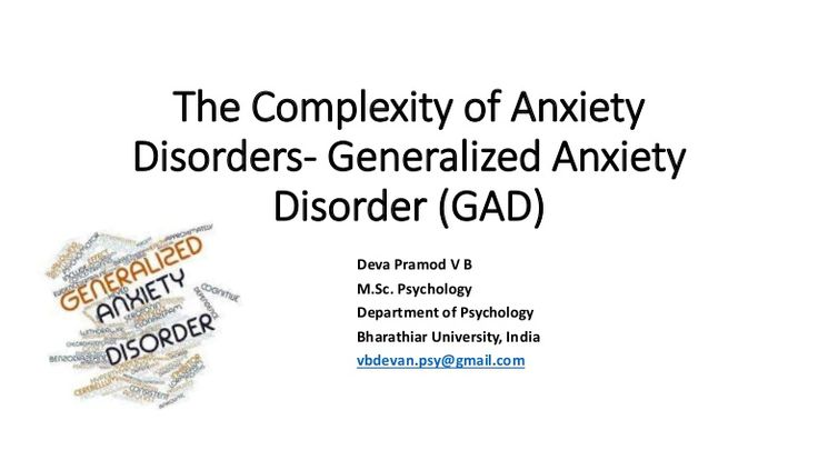 Generalized Anxiety Disorder (GAD), Anxiety, Anxiety Disorders, Risk Factors , Signs and Symptoms of GAD, DSM V Diagnostic Criteria for Generalized Anxiety Di…