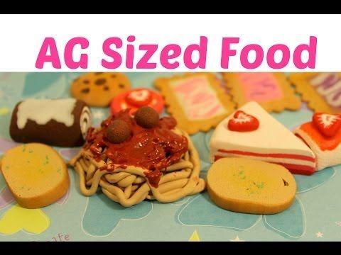 How To Make American Girl Doll Food - YouTube