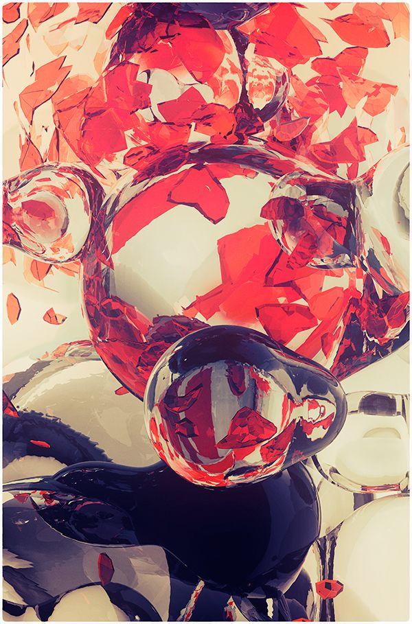 BUBBLES 3 by atelier olschinsky , via Behance
