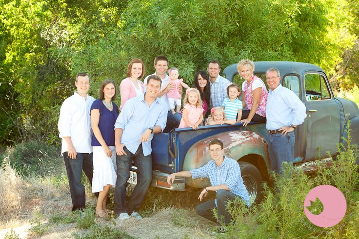 An Old Truck, A Few Ants & A Darling Family | St George Utah Extended Family Photographer