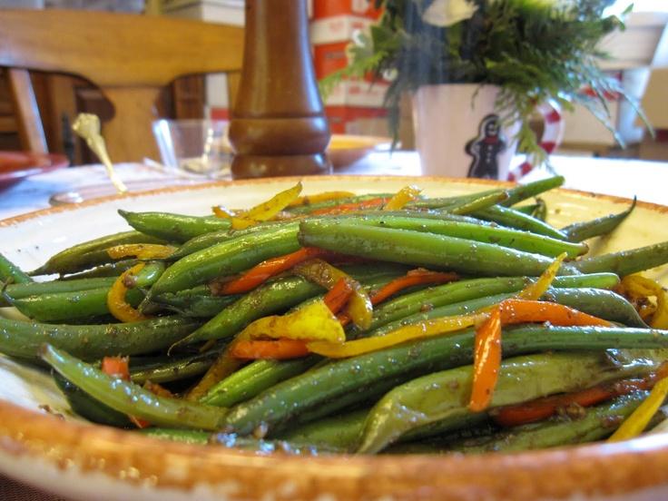 Honey Balsamic Green Bean | Reese's Cake | Pinterest