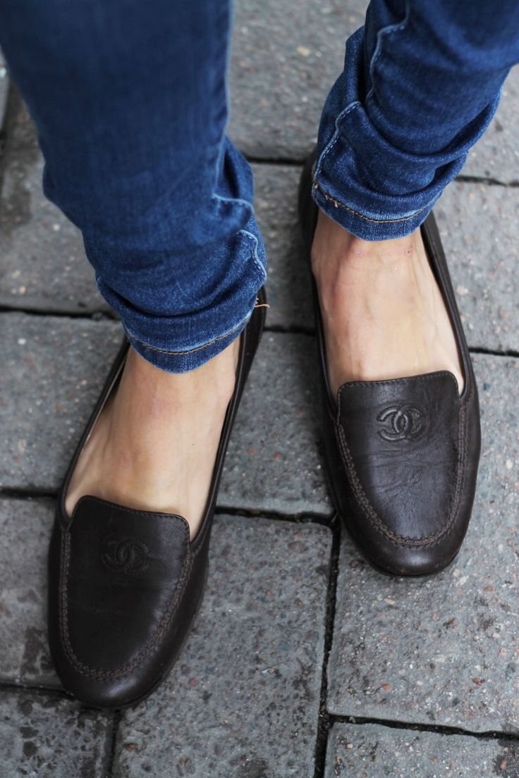 Chanel loafers?! what a dream