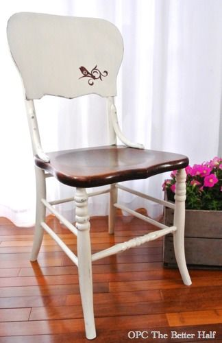 Best 25 Wooden Chair Redo Ideas On Pinterest Diy Chair