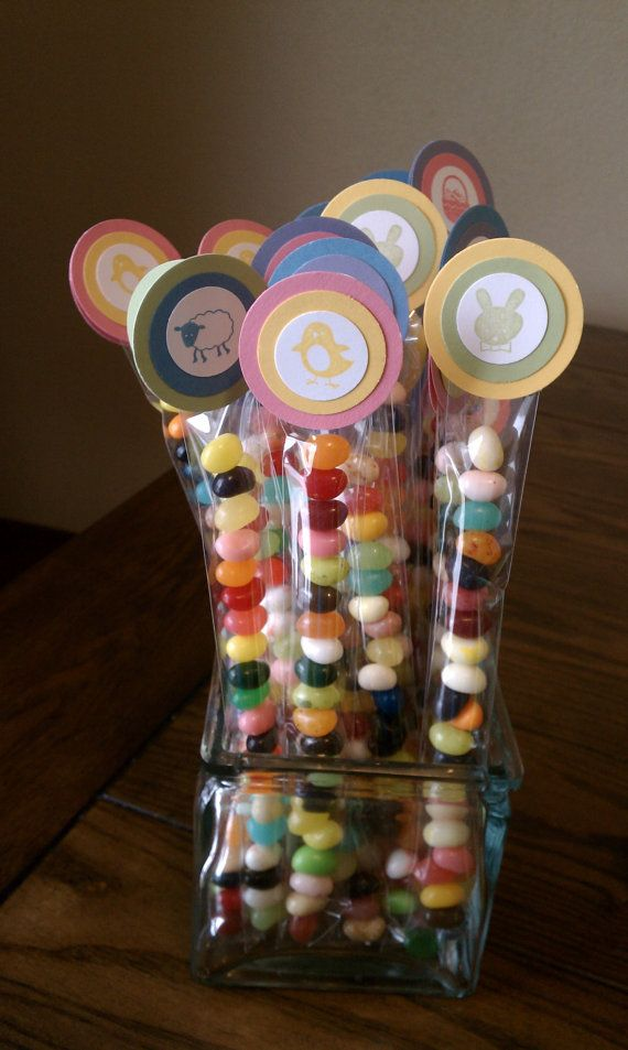 10 Gourmet Jelly Bean Candy Candy for Easter by KLundquistDesigns, $15.00