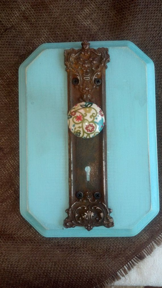 antique door knob wall hanger by on etsy