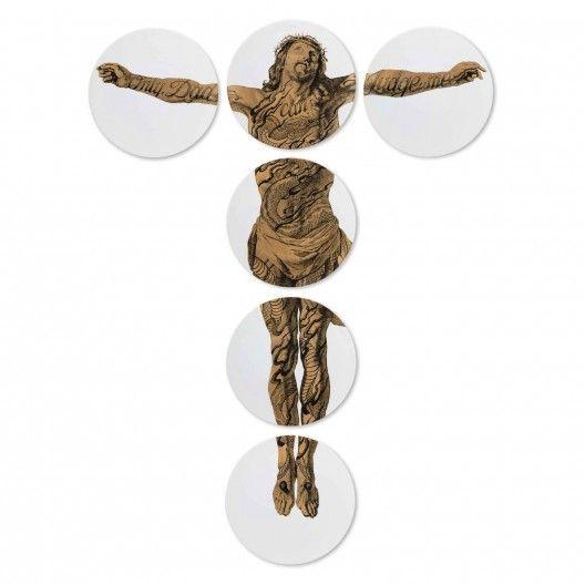 "Assiettes Ecce Homo ""Christ Fragonard"" - Daandi"