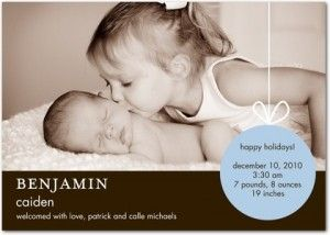 Birth Announcement Wording Ideas For Boys