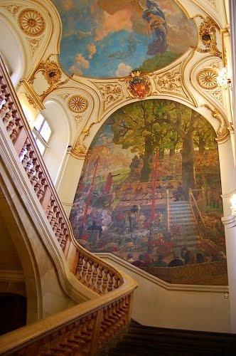 là où ma mère s'est marié, au Capitole de Toulouse