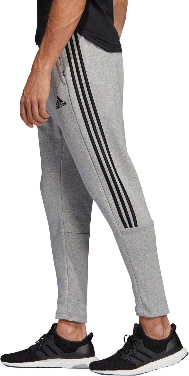 Pantalones De Tiro Adidas Must Haves 3 Stripes Tiro Para Hombre Gris Sporty Outfits Men Track Pants Mens Adidas Track Pants Mens