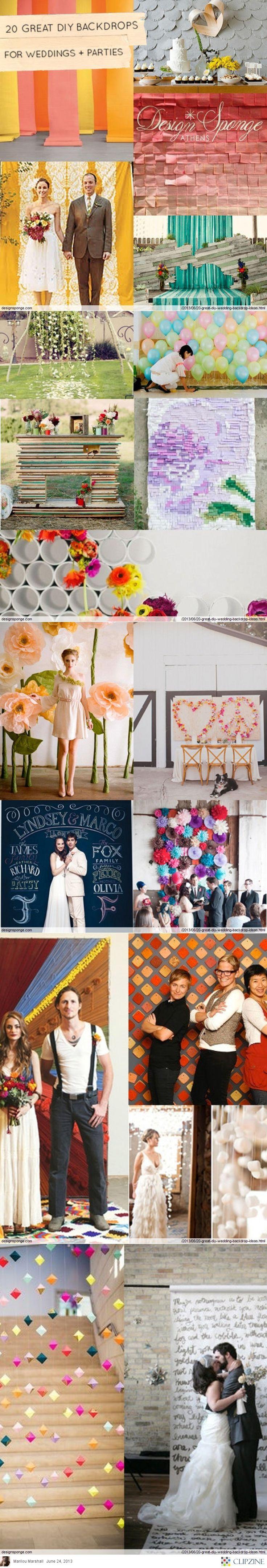 Die besten bilder zu wedding backdrops auf pinterest empfänge