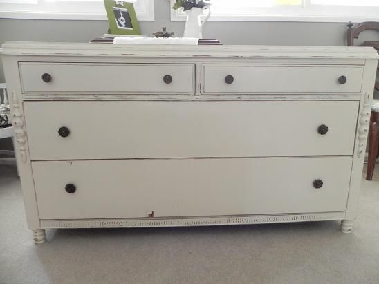 Beautiful White Distressed Furniture This Pin And More On Distressing Wood Inside Inspiration