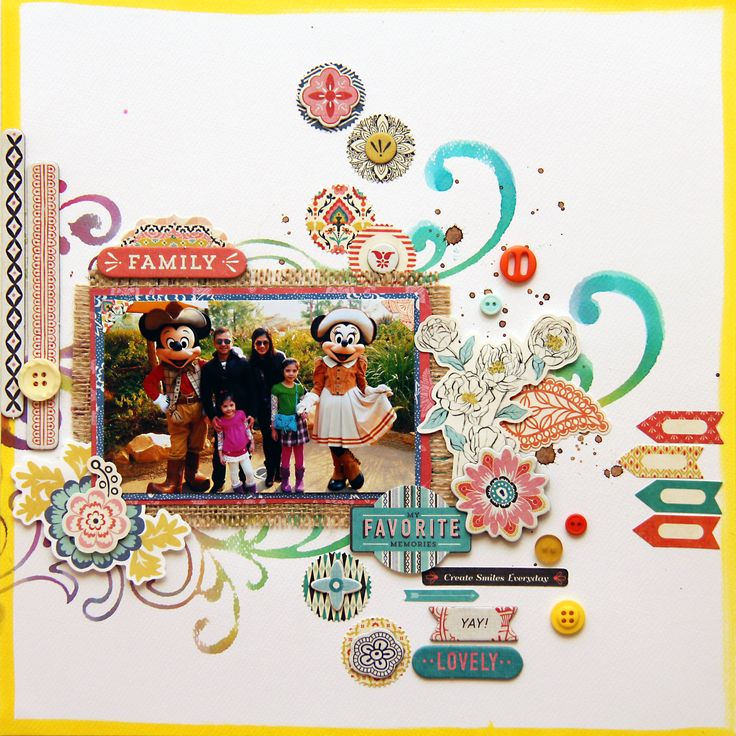 BasicGrey papers with Ranger Perfect Pearls and Distress Inks … layout by Iris Babao Uy