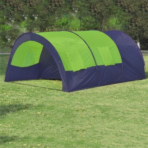 104.5$  Watch more here - http://aiugd.worlditems.win/all/product.php?id=90415FR - Tenda da campeggio in poliestere per 6 persone Blu-Verde