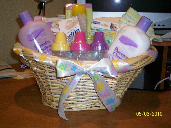 baby shower gift basket