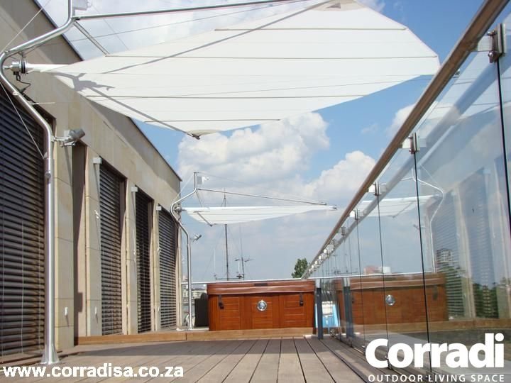 Ideal Awning For Smaller Limited Spaces Where Shade Is Needed The Defense Retractable Sail