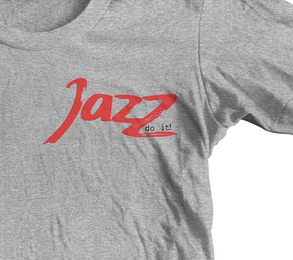 JAZZ do it T shirt. SAXOPHONE MUSIC. by goWithMusic on Etsy