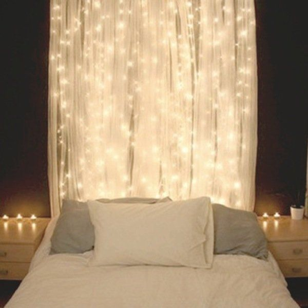 IKEA LILL Sheer curtains 1 pair white essential for your fairy light bedroom on Wanelo