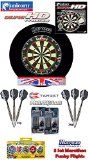 UNICORN Eclipse HD-tv Dartboard/Dartscheibe  Harrows Surround für Dartboards  2 Set TARGET Phil Taylor Darts  Abwurflinie  5er Set Flights Reviews