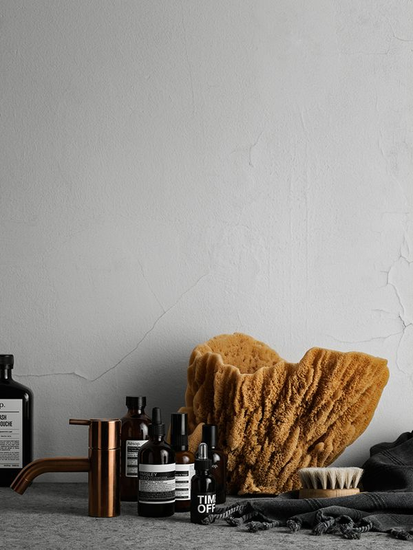 I'm swooning over this wonderful bathroom styling by Lotta Agaton for Residence Magazine, shot by Kristofer Johnsson.