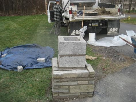 Image Result For Rock Driveway Columns