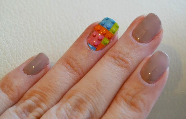 London Beauty Queen: NEW Nail Rock: 3D Lego Nail Wraps