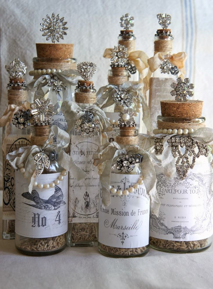 How To Decorate Old Bottles 443 Best Images About Bottles On Pinterest  Decorative Bottles