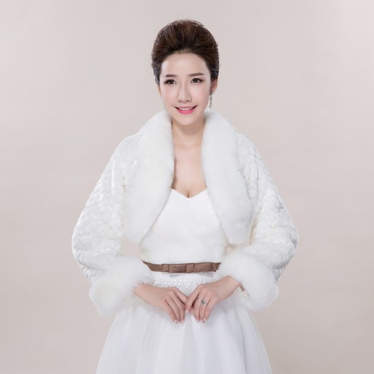 Wedding Accessories White New Arrival Bridal Wraps Brides Accessories Fashionable Wedding Bolero For Forma