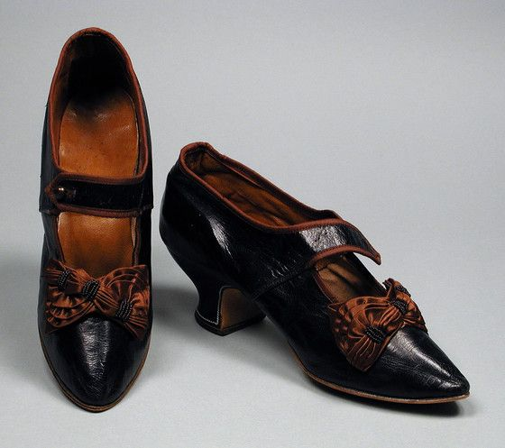 Pair of Woman's Bar Shoes United States, 1880-1885   LACMA Collections