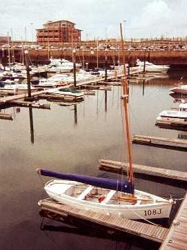 """The """"Fiona"""" in St Helier marina in May 2000"""