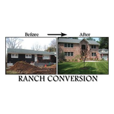 one story addition | Ranch Second Story Addition