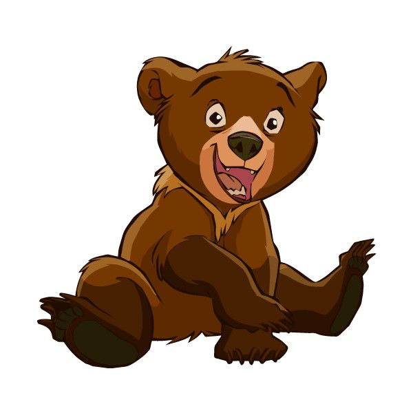 Brother Bear Clipart Liked On Polyvore Featuring Disney