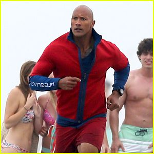 #Dwayne Johnson Films Dramatic Rescue for 'Baywatch' --- More News at : http://RepinCeleb.com  #celebnews #repinceleb #CelebNews