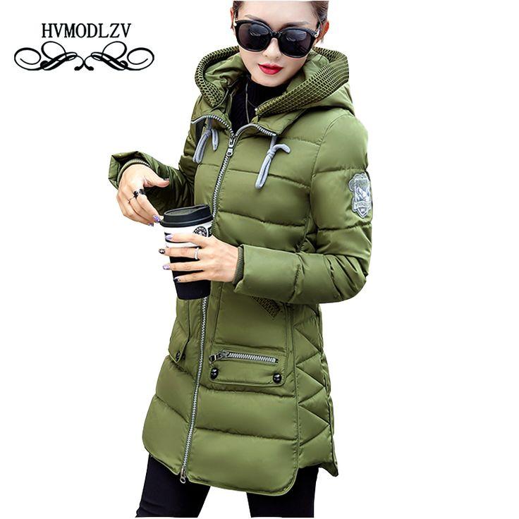 Winter Jacket Coat Women 2017 New Hot Style Hooded Slim Medium Long Plus Size Down cotton Parkas Lady Top female Coats 7XL lj540 Jetzt bestellen unter: https://mode.ladendirekt.de/damen/bekleidung/jacken/winterjacken/?uid=90ca6882-6aba-5a38-8972-0e49de578645&utm_source=pinterest&utm_medium=pin&utm_campaign=boards #winterjacken #bekleidung #jacken