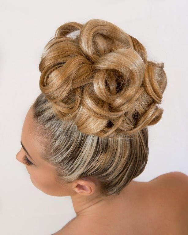Best 25+ Big hair updo ideas on Pinterest   Big updo, Big ...