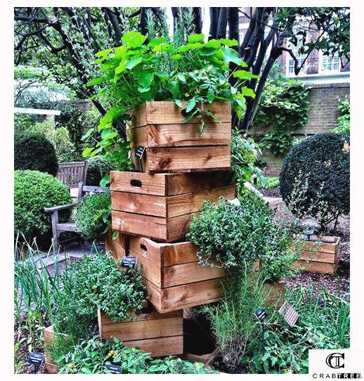 Martesdeco para un jard n peque o o esquinero puedes for Jardin vertical pequeno