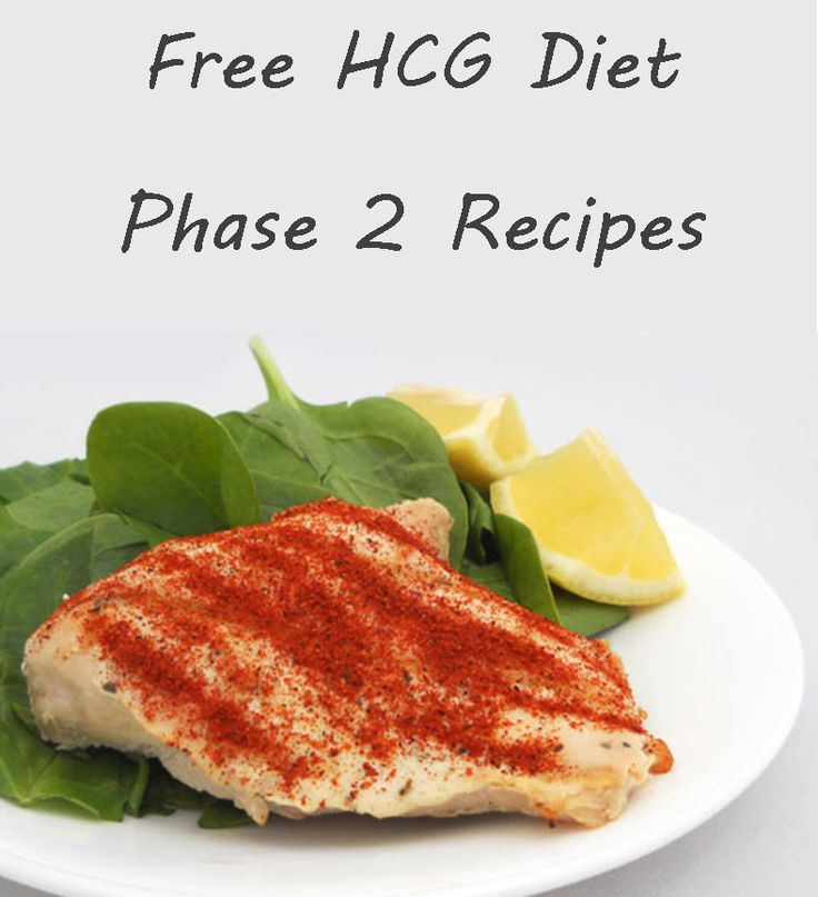 How To Cook Food On The Hcg Diet