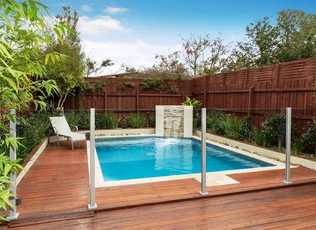 When Pool Security Comes Into Mind It Has Multiple Benefits For Children And Parents As Well As Pets And P Glass Pool Fencing Backyard Pool Designs Glass Fence