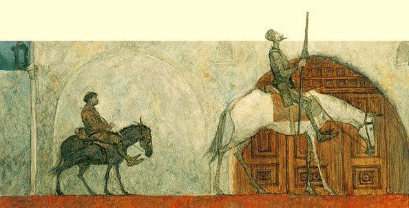 çizgili masallar: Don Quixote by Svetlin Vassilev: