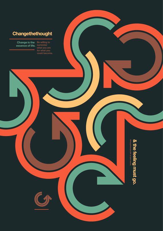 25 best ideas about retro graphic design on pinterest. Black Bedroom Furniture Sets. Home Design Ideas