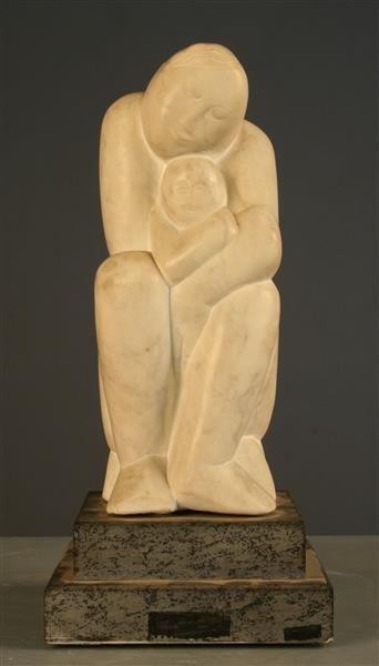Mutter und Kind   Makolies, Peter (Bildhauer) 1976