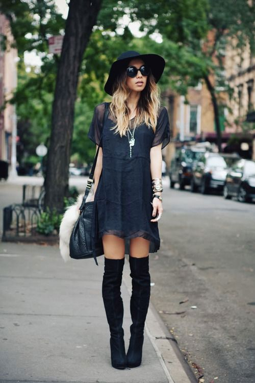 20 Style Tips On How To Wear Over-The-Knee Boots   Gurl.com