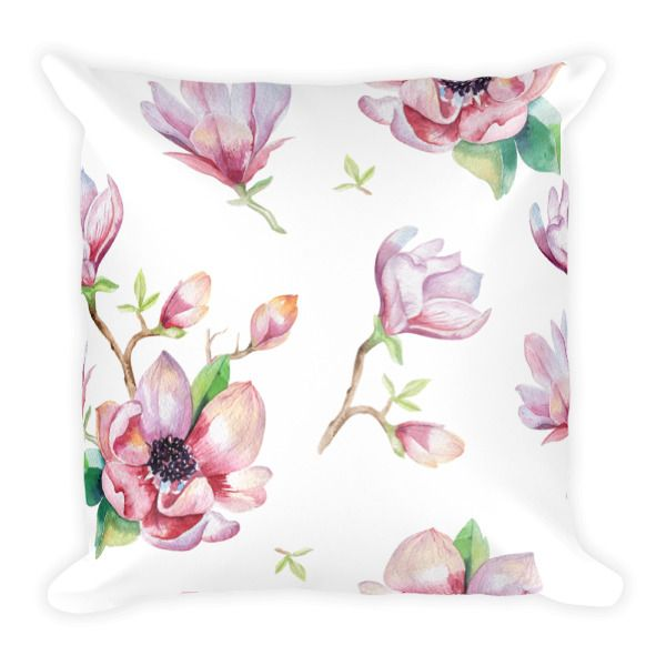 Square Pillow – Magnolia     Spice up the style in your home.    http://classicbeautydesigns.com/product/square-pillow-magnolia/